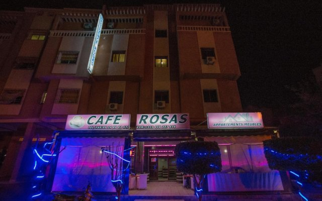 Отель Residence Rosas Марокко, Уарзазат - отзывы, цены и фото номеров - забронировать отель Residence Rosas онлайн вид на фасад