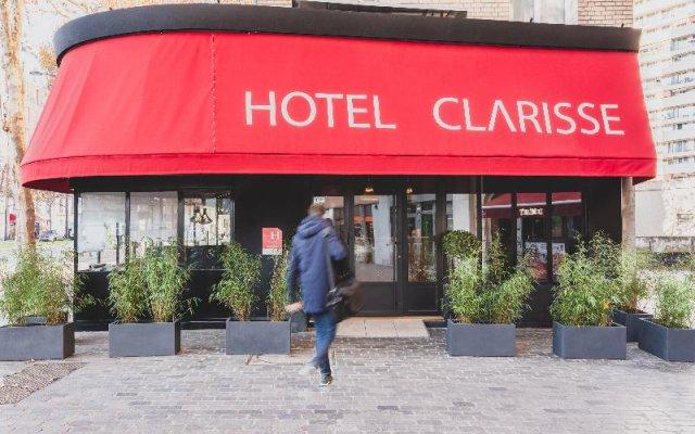 Отель Hôtel Clarisse вид на фасад