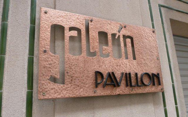 Отель Galeón вид на фасад