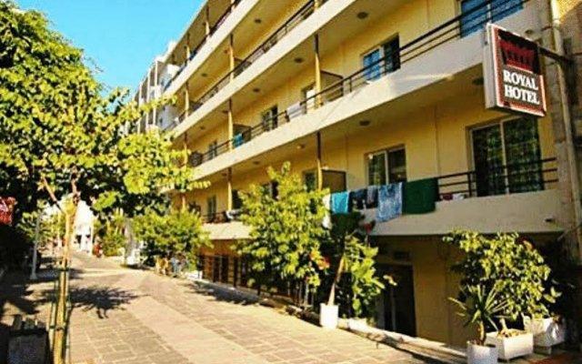Отель Royal Aparthotel Родос вид на фасад
