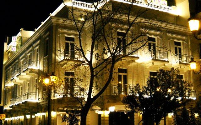 Hotel Rio Athens Афины вид на фасад