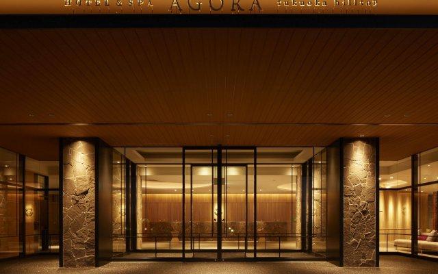 Agora Fukuoka Hilltop Hotel & Spa Фукуока вид на фасад