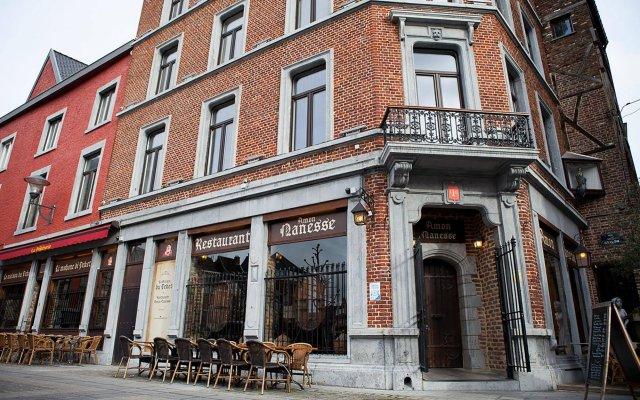 Отель Appart-Hotel Léopold Liège Centre Бельгия, Льеж - отзывы, цены и фото номеров - забронировать отель Appart-Hotel Léopold Liège Centre онлайн вид на фасад