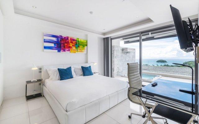 Отель The Vista Karon By Favstay комната для гостей