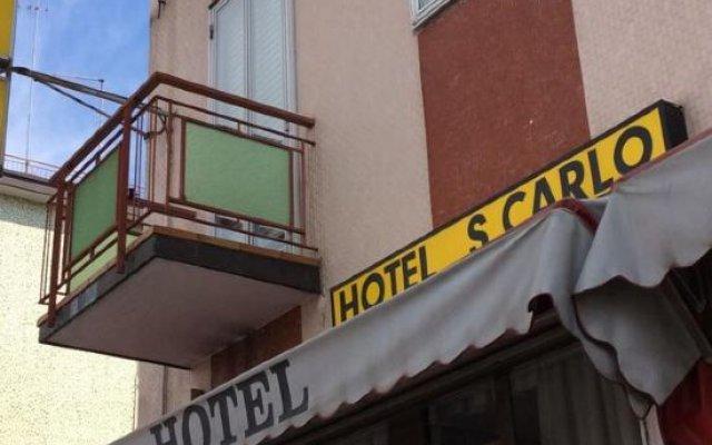 Hotel San Carlo вид на фасад