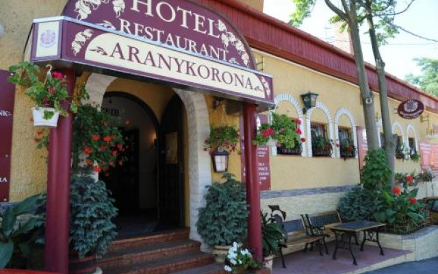 Отель Aranykorona Hotel Венгрия, Силвашварад - отзывы, цены и фото номеров - забронировать отель Aranykorona Hotel онлайн вид на фасад