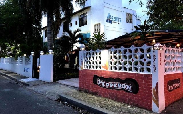 Aparta Hotel Azzurra вид на фасад