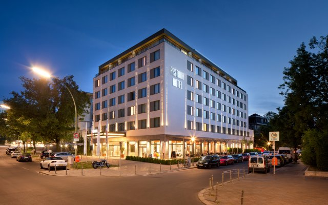 Отель Pestana Berlin Tiergarten вид на фасад