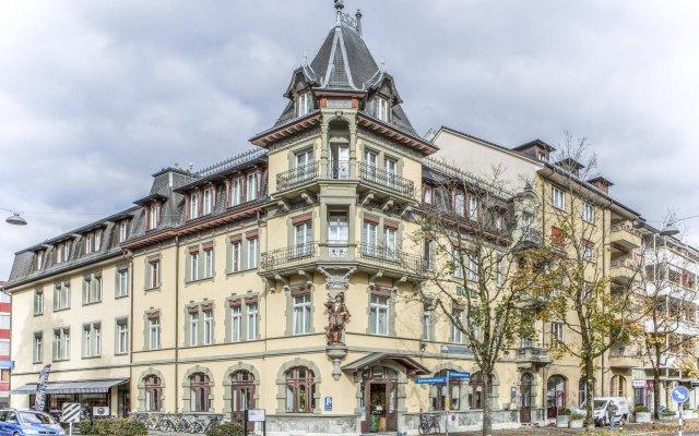Отель Waldhorn Швейцария, Берн - отзывы, цены и фото номеров - забронировать отель Waldhorn онлайн вид на фасад