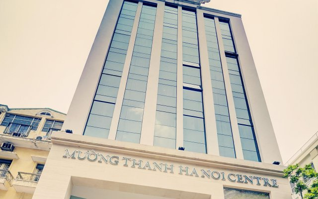Muong Thanh Hanoi Centre Hotel вид на фасад