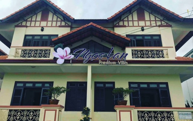 Отель TTC Villa Premium Ngoc Lan Далат вид на фасад