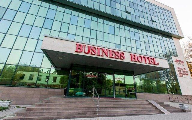 Отель Астра Алматы вид на фасад