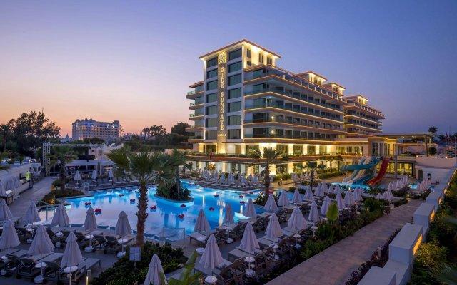 Side Sungate Hotel & Spa - All Inclusive вид на фасад