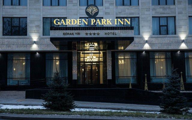 Гостиница Garden Park Inn вид на фасад