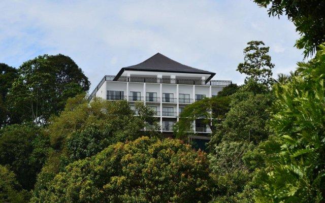 Отель Swiss Residence Канди вид на фасад