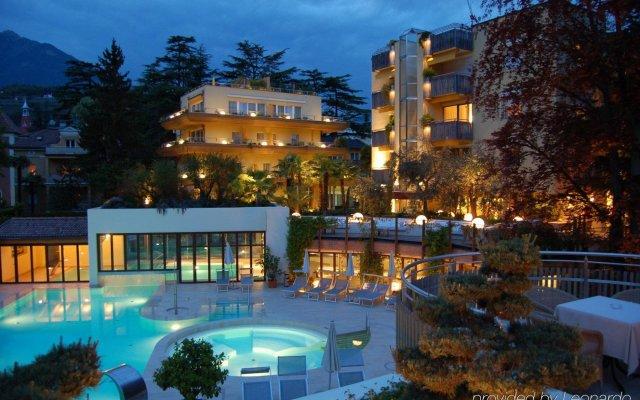 Отель Park Hotel Mignon Италия, Меран - отзывы, цены и фото номеров - забронировать отель Park Hotel Mignon онлайн вид на фасад
