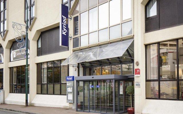 Отель KYRIAD PARIS EST - Bois de Vincennes вид на фасад