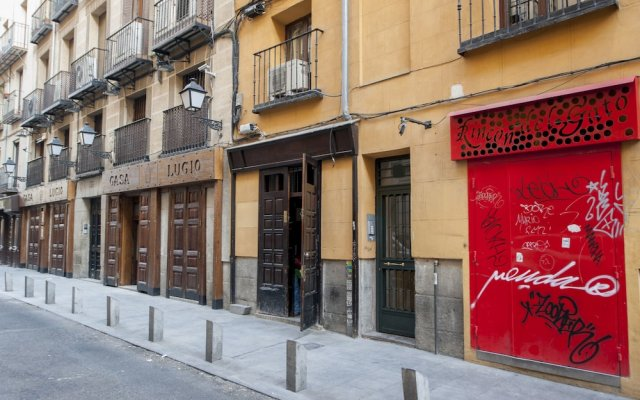 Отель Alterhome Apartamento Paseo de las tapas вид на фасад