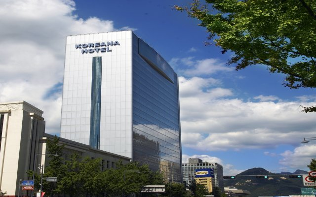 Koreana Hotel вид на фасад