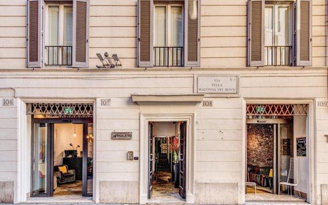 Отель Residenze Argileto Рим вид на фасад