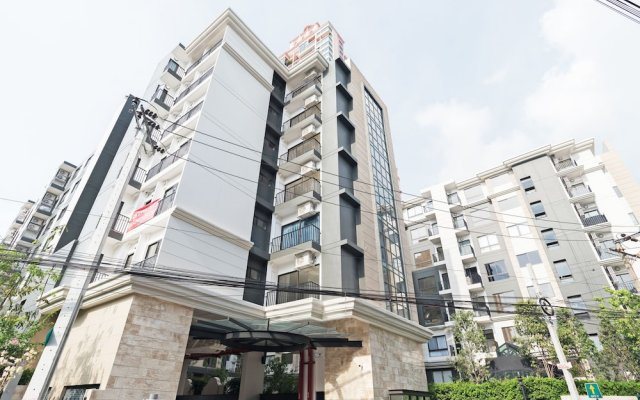 Отель The Nest Sukhumvit 22 By Favstay Бангкок вид на фасад