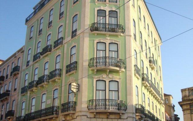 Отель Pensão Londres Португалия, Лиссабон - 4 отзыва об отеле, цены и фото номеров - забронировать отель Pensão Londres онлайн вид на фасад
