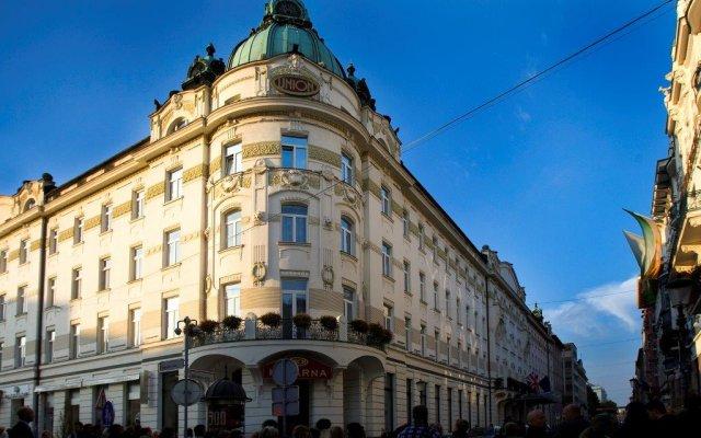 Grand Hotel Union вид на фасад