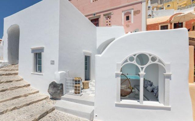 Отель Namaste Suites by Caldera Houses Греция, Остров Санторини - отзывы, цены и фото номеров - забронировать отель Namaste Suites by Caldera Houses онлайн вид на фасад