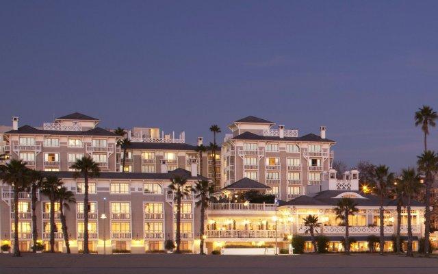 Отель Shutters On The Beach Санта-Моника вид на фасад