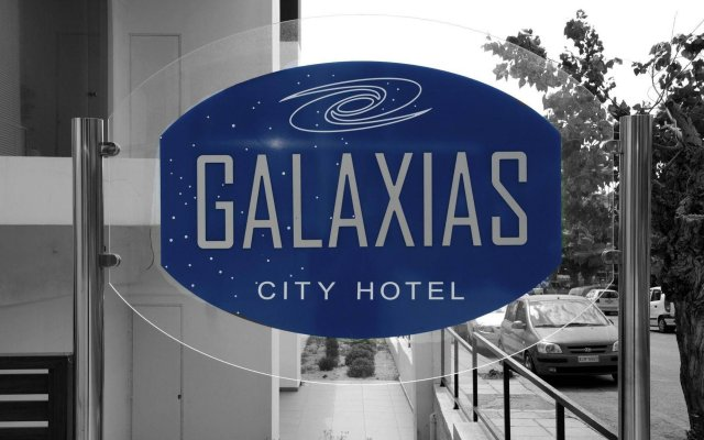 Отель Galaxias Родос вид на фасад