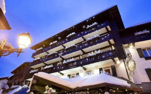 Hotel Mont-Blanc вид на фасад