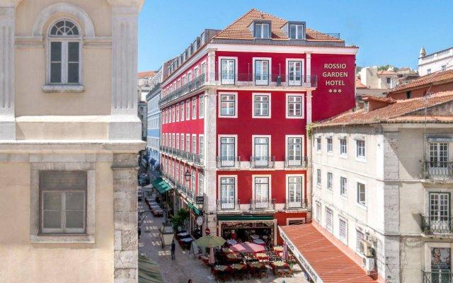 Отель Rossio Garden Hotel Португалия, Лиссабон - отзывы, цены и фото номеров - забронировать отель Rossio Garden Hotel онлайн вид на фасад