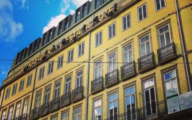 Отель Pestana Porto - A Brasileira City Center And Heritage Building Порту вид на фасад
