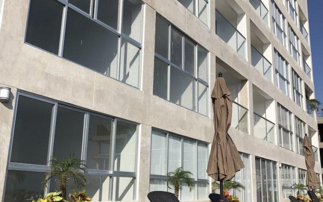 Отель Marina Platino Departamento De Lujo 2 Habitaciones. 6 Per. Масатлан вид на фасад
