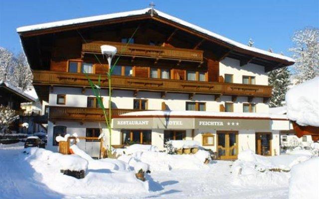 Отель Feichter Австрия, Зёлль - отзывы, цены и фото номеров - забронировать отель Feichter онлайн вид на фасад