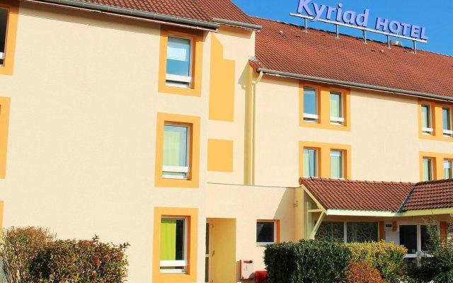 Hotel Kyriad Lyon Est - Saint Bonnet de Mure вид на фасад