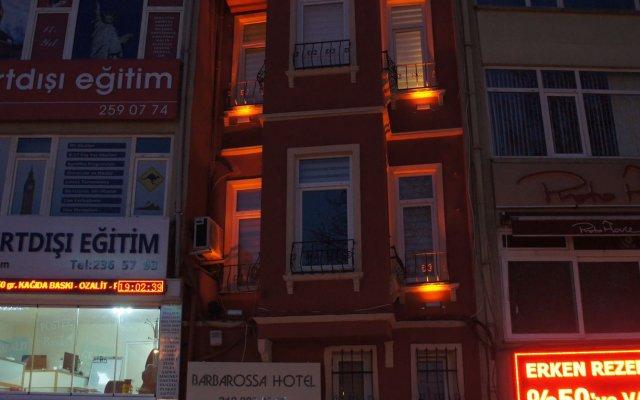 Отель Barba Rossa Residence Стамбул вид на фасад