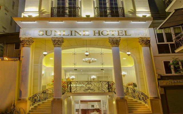 Sunline Hotel вид на фасад