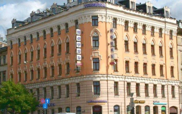 Отель Rija Irina Рига вид на фасад