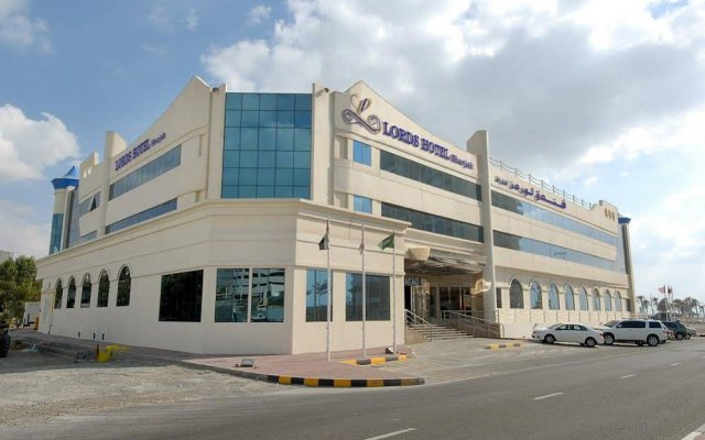 Lavender Hotel Sharjah Шарджа вид на фасад