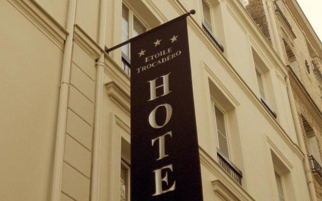 Отель Etoile Trocadero вид на фасад