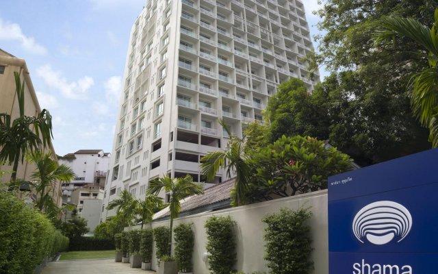 Отель Shama Sukhumvit Бангкок вид на фасад