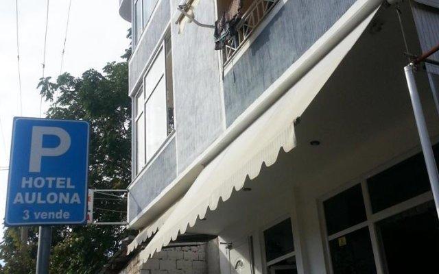 Hotel Aulona вид на фасад