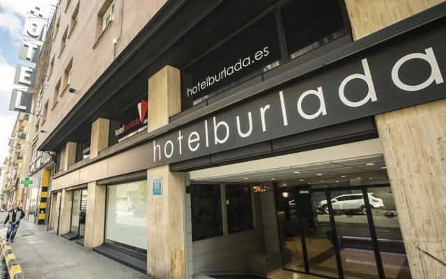 Отель BURLADA Бурлада вид на фасад