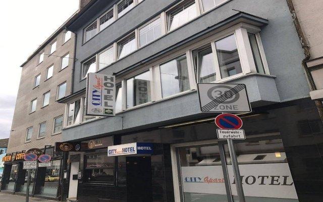 Отель City Apart Hotel Германия, Дюссельдорф - отзывы, цены и фото номеров - забронировать отель City Apart Hotel онлайн вид на фасад