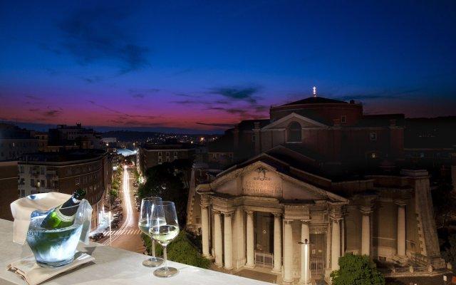 Radisson Blu GHR Hotel, Rome вид на фасад
