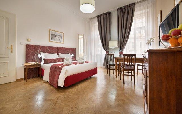 Отель Residence Suite Home Praha Прага комната для гостей