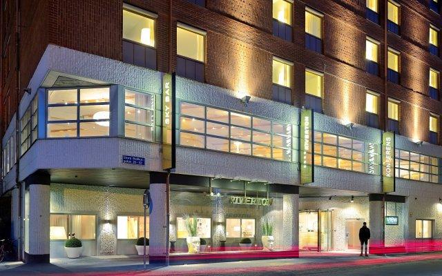 Отель RIVERTON Гётеборг вид на фасад