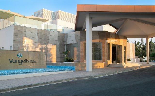 Vangelis Hotel & Suites Протарас вид на фасад