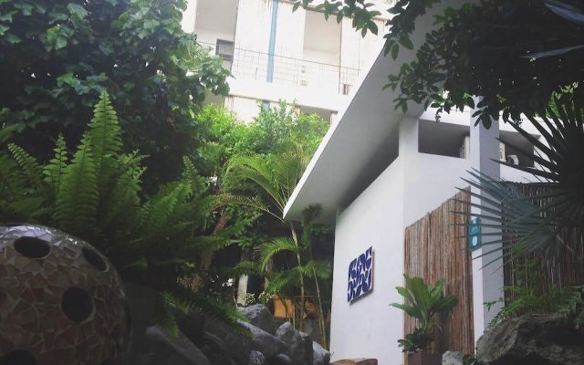 Отель Jacarandas-habitación Para 3 Personas en Mazatlán Масатлан вид на фасад